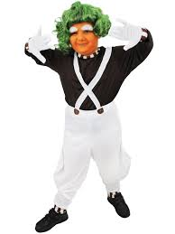 oompa loompa costume childrens oompa loompa costume boys chocolate