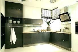 cuisine blanche mur gris cuisine acquipace gris anthracite decoration cuisine grise deco