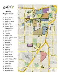 Map Dallas Map The Neighborhoods Of Oak Cliff Oak Cliff