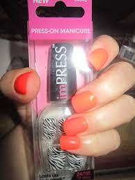 broadway nails impress press on manicure u2013 xaleah xailee u0027s product