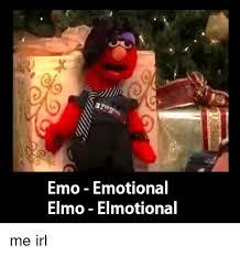 Elmo Meme - emo emotional elmo elmotional elmo meme on esmemes com