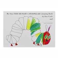 my own very hungry caterpillar colouring book the very hungry