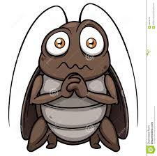 How To Get Rid Of Cockroaches In Kitchen Cabinets by Cockroach Cartoon Get Out Royalty Free Stock Image Image