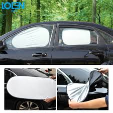 6pcs lot car window sun shade car windshield visor cover block