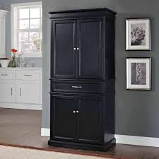 Large Kitchen Pantry Cabinet Crosley Furniture Parsons Pantry Walmart Com