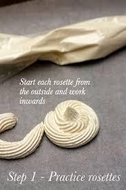 step 1 buttercream rosettes wedding cake diy tutorial from