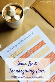 the best thanksgiving menu free thanksgiving menu planner and checklist the art of joy living