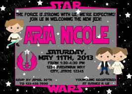 Star Wars Baby Shower Invitations - 63 best star wars baby shower images on pinterest star wars baby
