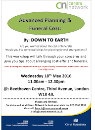 funeral cost advanced planning and funeral costs workshop carers network