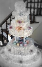 how to make a boutique style diaper cake 10 steps