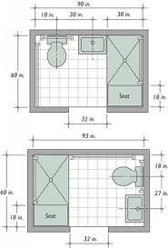 space saving floor plans small bathroom design plans 33 space saving layouts for small