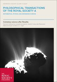 asteroid comet continuum objects philosophical transactions of