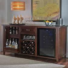 Wine Cabinet Furniture Refrigerator Wine Coolers Furniture Siena Mezzo Credenza Nero With Two