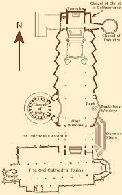 Cathedral Floor Plan Coventry U0027s New Cathedral