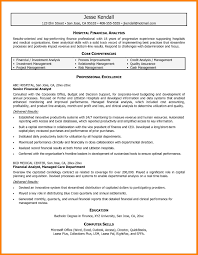 financial analyst resumes best ideas of 9 financial analyst resume sle beautiful business