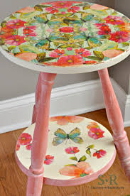 decoupage blog tutorial serendipity refined blog furniture makeover tutorial miss mustard