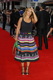 Bad Education Louise Redknapp At Bad Education Movie Premiere In London