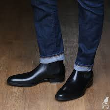 black chelsea boots with blue jeans zapatos shoes pinterest