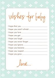 bridal shower wish baby wishes cards best 25 ba wishes ideas on wishes for