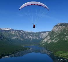 Slovenia Lake 3glav Adventures Amazing Paragliding Bled Slovenia