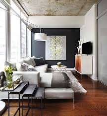 small contemporary condo features stylish details in toronto