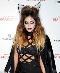 picture of nicole s hairstyle from days of our lives nicole scherzinger looks like a cat at heidi klum s halloween