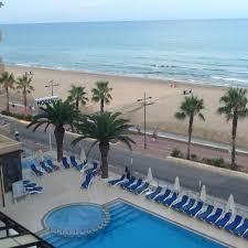 hotel piscine dans la chambre vue piscine depuis notre chambre picture of hotel peniscola palace