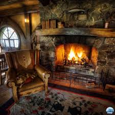 Fancy Fireplace by The Pilgrimgram February 2017