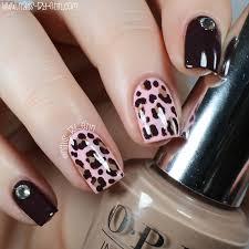 nailsbyerin opi infinite shine review u0026 leopard print nails