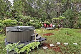 Backyard Volcano Secluded Rainforest Getaway Tub Vacation Homes For Rent