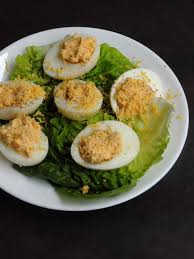 mimosa cuisine s versatile recipes oeufs mimosa indo deviled eggs