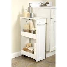 bathroom white painted mahogany wood bathroom cabinet organizers
