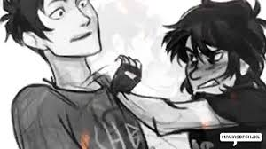 hard to believe percy jackson and nico di angelo youtube