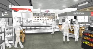 kum u0026 go unveils marketplace store design in republic