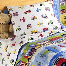 Airplane Bedding Sets by Toddler Bedroom Sets Boys On Trains Airplanes Fire Trucks Toddler