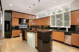 cuisine bois laqué cuisine et bois en 42 idées de design d intérieur