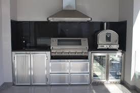 Outdoor Stainless Steel Kitchen - custom stainless steel kitchens barbecue bazaar