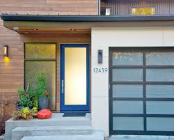 modern glass front door caisson studios