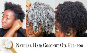 Natural Hair Growth Remedies For Black Hair How To Pre Poo With Coconut Oil For Hair Growth Natural Hair Mask