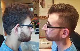 men u0027s taper fade haircut tutorial with beard trim u0026 line up