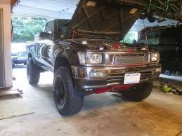 93 toyota truck wheels and tires on 1993 toyota turbo 4x4