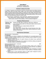 Vmware Resume 9 Tech Resume Samples G Unitrecors