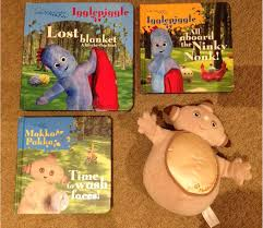 night garden books u0026 makka pakka soft toy bundle