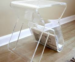 martini side table examplary sale lucite waterfall coffee table from cb2 square