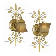 Gold Wall Sconce Candle Holder Lighting Classic Lighting Traditional Wall Sconces Light Sconces