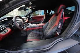 I8 Bmw Interior With 45k Red Sox Player Made His Bmw I8 Glow