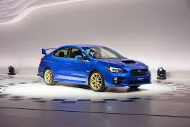 subaru wrx spoiler 2015 subaru wrx sti bows in detroit with a big wing and 305hp 2 5l