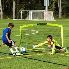Best Soccer Goals For Backyard Amazon Com Franklin Blackhawk Portable Soccer Goal Small