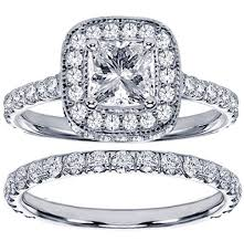 princess cut wedding ring princess cut wedding ring set insured by