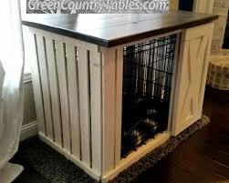 Dog Crate Furniture Bench Desks Bookshelves Kitchen Islands Rustic Dog Crate Covers